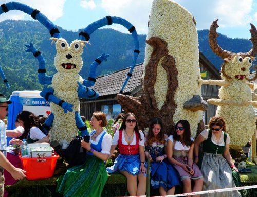Фестиваль нарциссов в Австрии